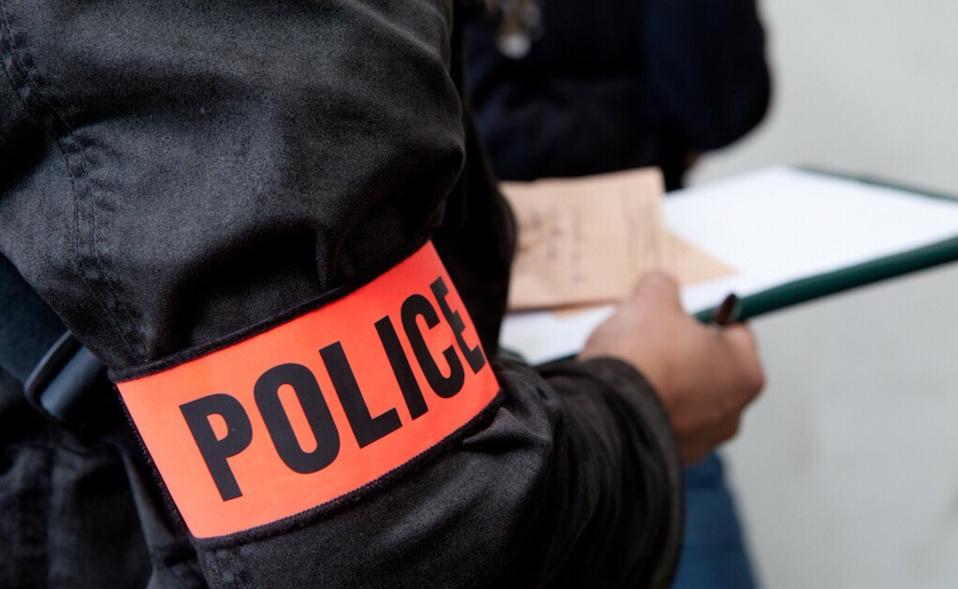 @Illustration. La police technique et scientifique s'est rendue sur les lieux du braquage afin de relever d'éventuelles traces ADN