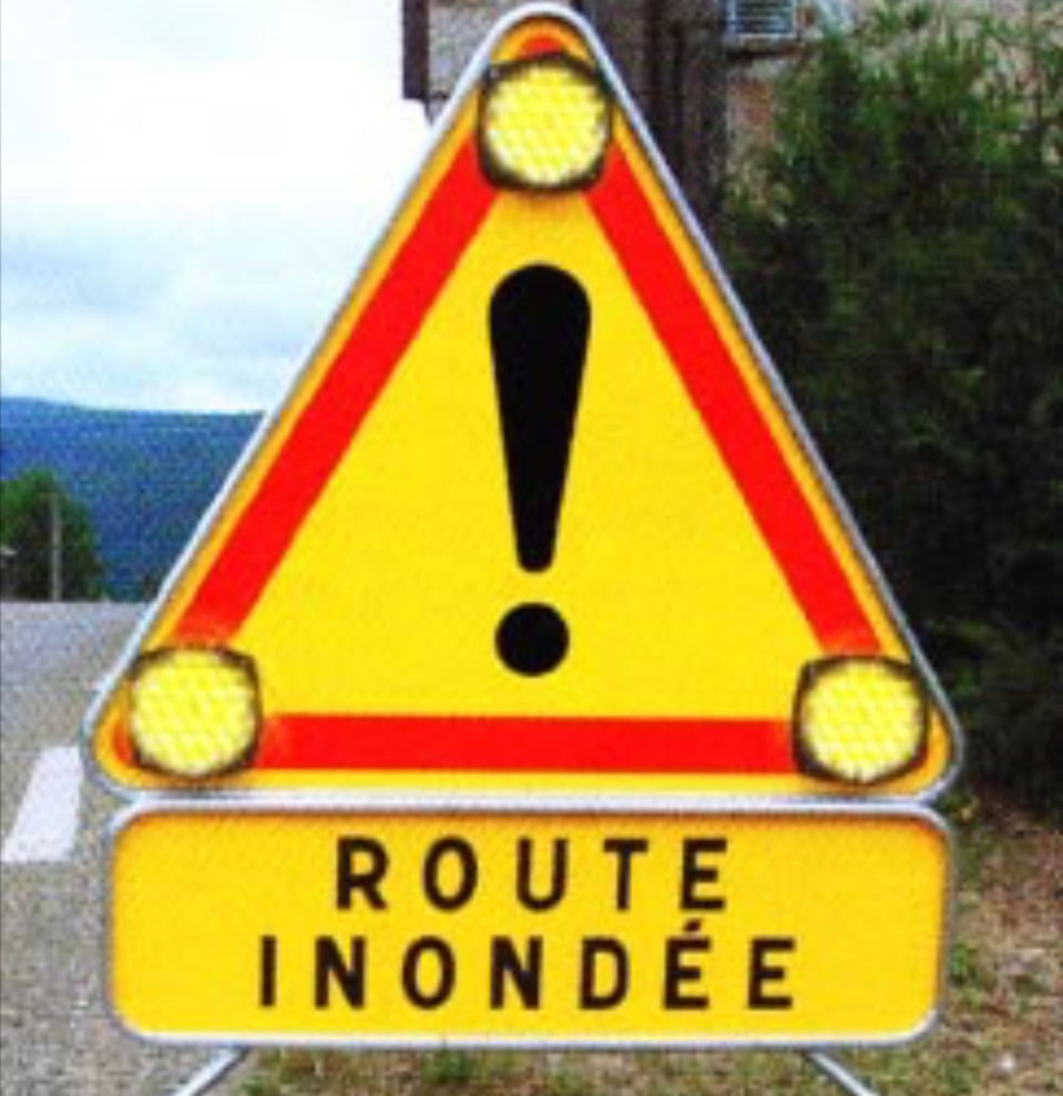 Inondation : la trémie de la Motte à Petit-Quevilly fermée dans les deux sens depuis minuit