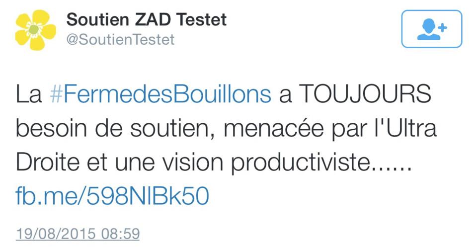 La ferme des Bouillons, près de Rouen, évacuée ce matin par les CRS ? Premières réactions