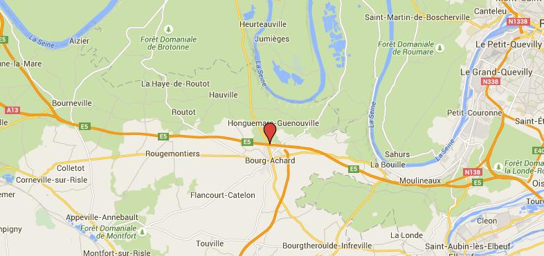 Un jeune homme percuté sur l'A13 dans l'Eure : il est dans un état très critique