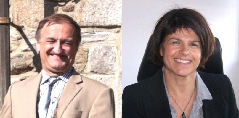 François Lobit et Agnès Bouty-Triquet