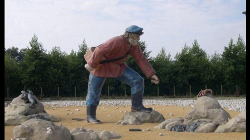La statue du pêcheur à pied d'Octeville-sur-Mer vandalisée par des inconnus