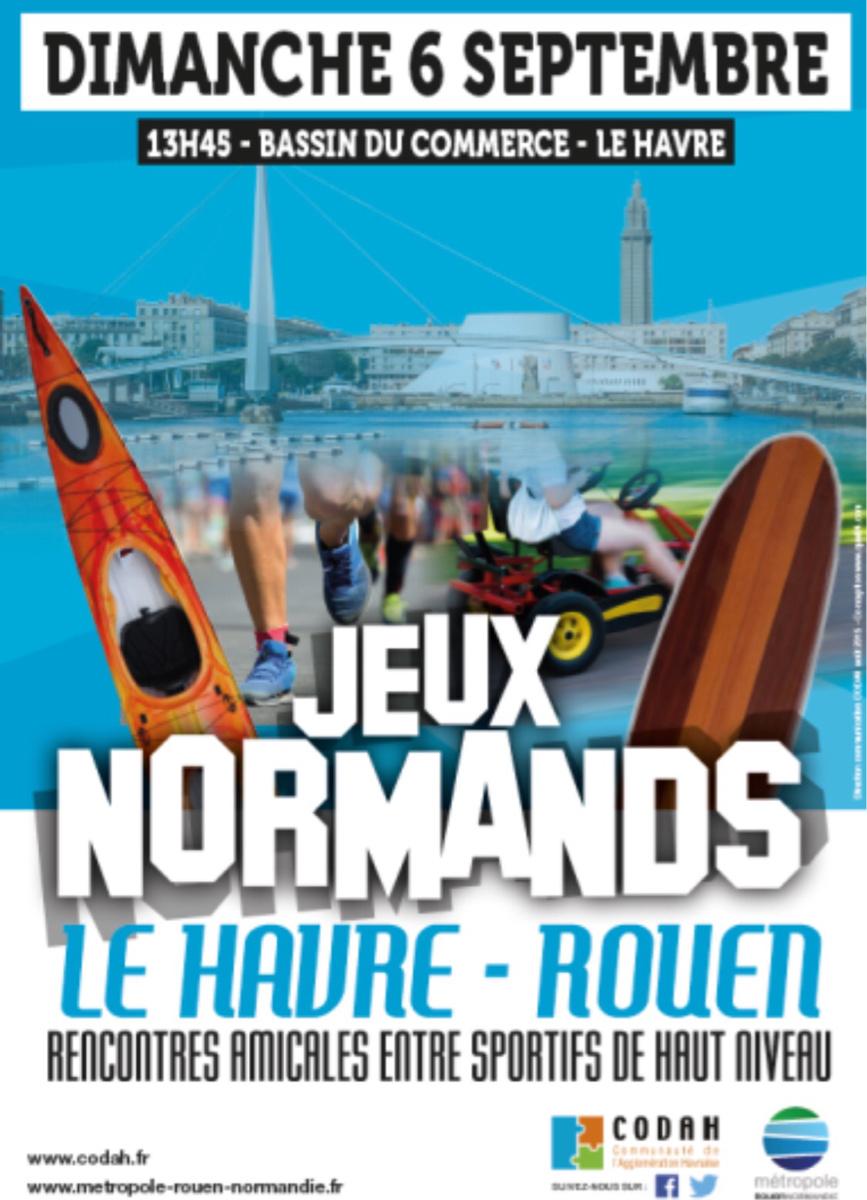 1ère édition des Jeux Normands : 60 athlètes de haut niveau se jettent à l'eau au Havre