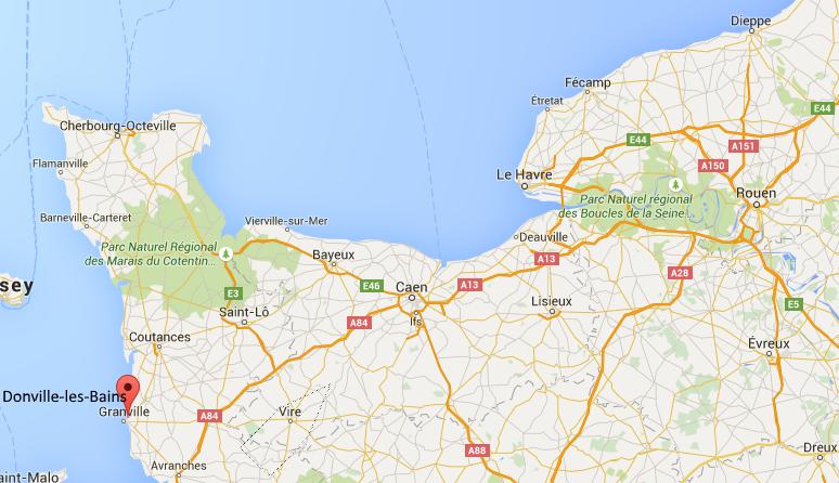 Opération de déminage jeudi à Donville-les-Bains (Manche) : les riverains seront évacués