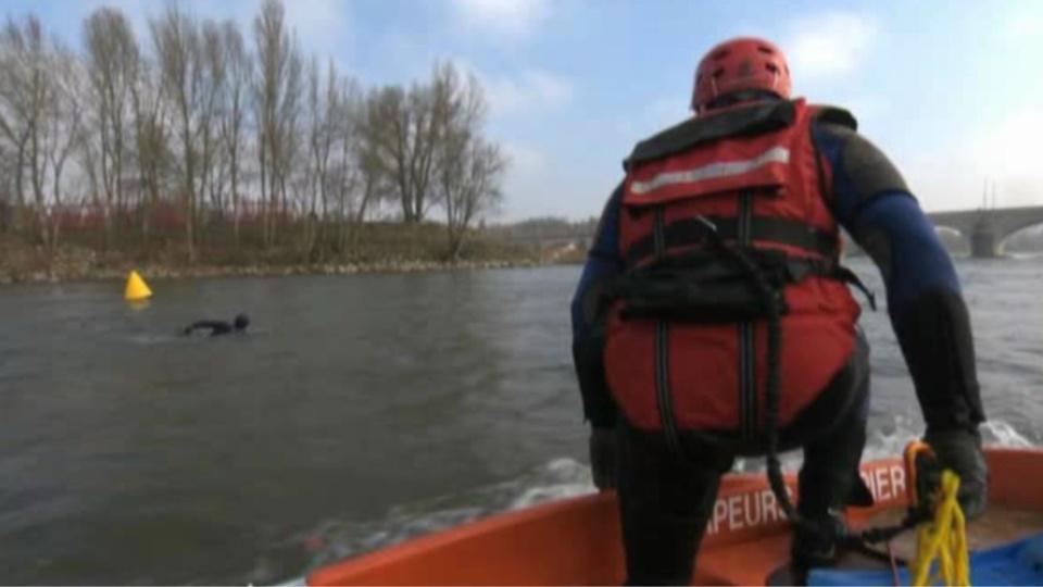 Illustration. Dans la soirée de vendredi 28 août, les plongeurs des sapeurs-pompiers avaient fait des recherches après qu'un homme ait été signalé dans le fleuve près du pont Corneille