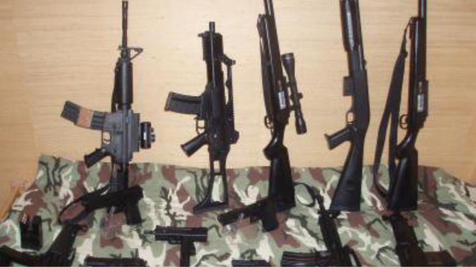 Illustration d'armes et de répliques airsoft