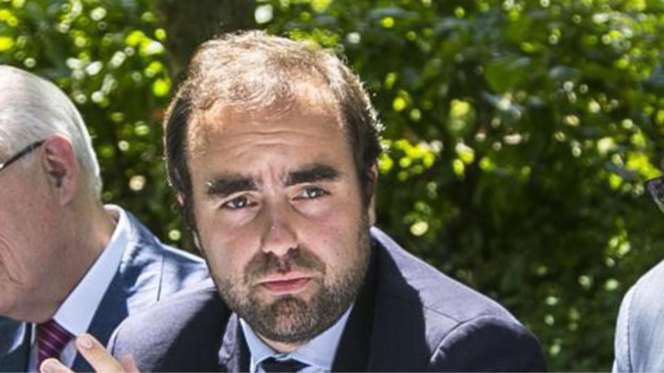 Sébastien Lecornu, président du Conseil départemental de l'Eure