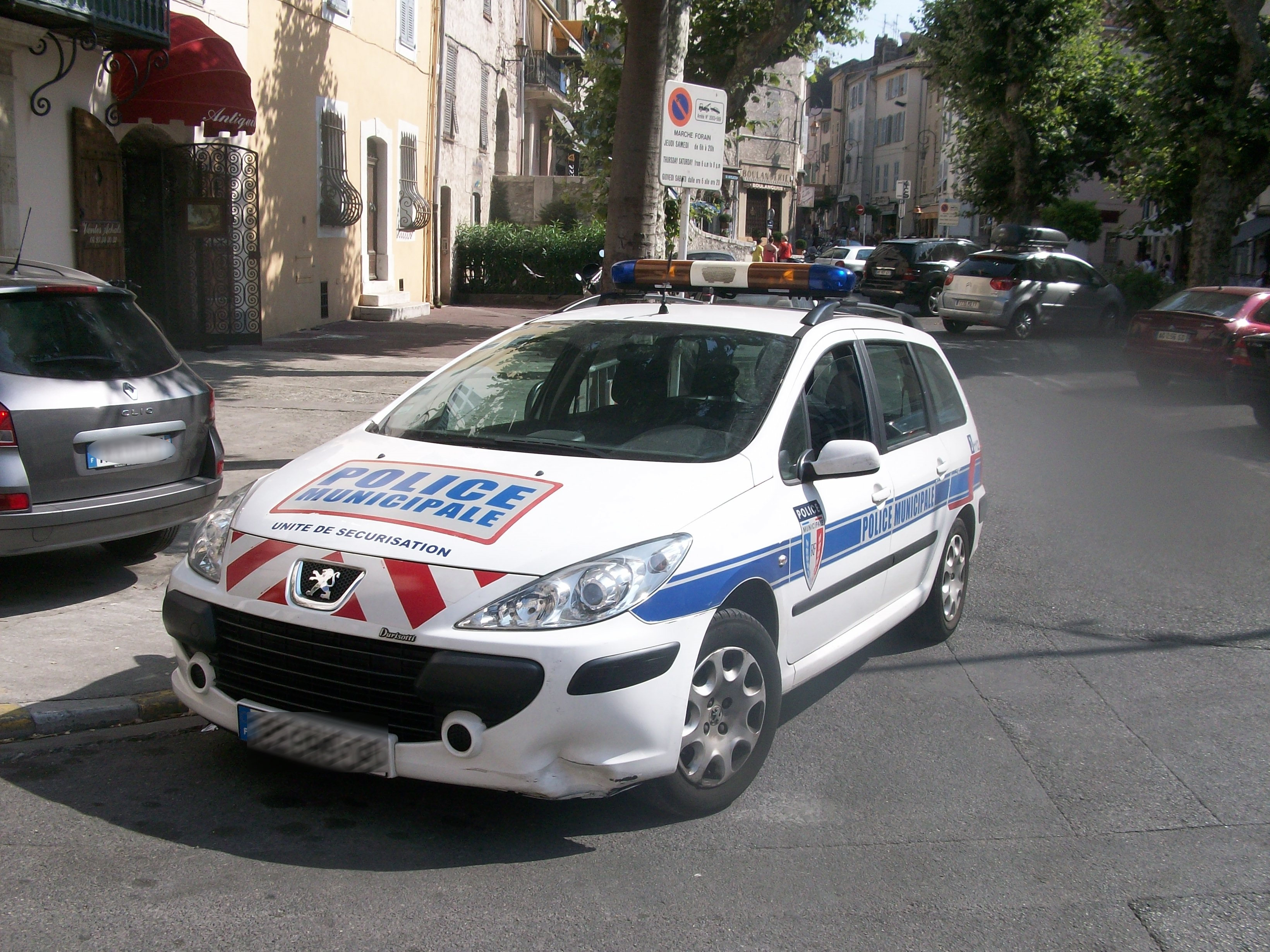 Photo d'illustration d'une voiture de police municipale @DR