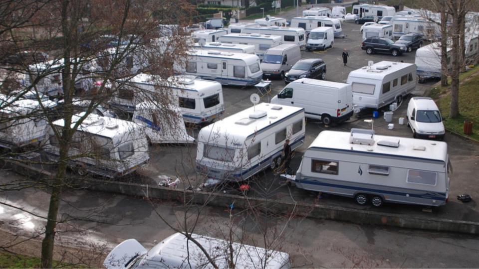 Yvelines : 150 caravanes des gens du voyage s'installent sur des terrains privés