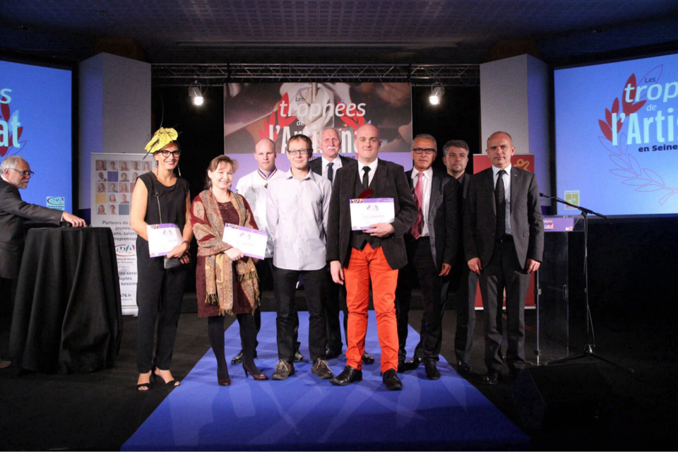Les lauréats des Trophées de l'artisanat récompensés à Rouen