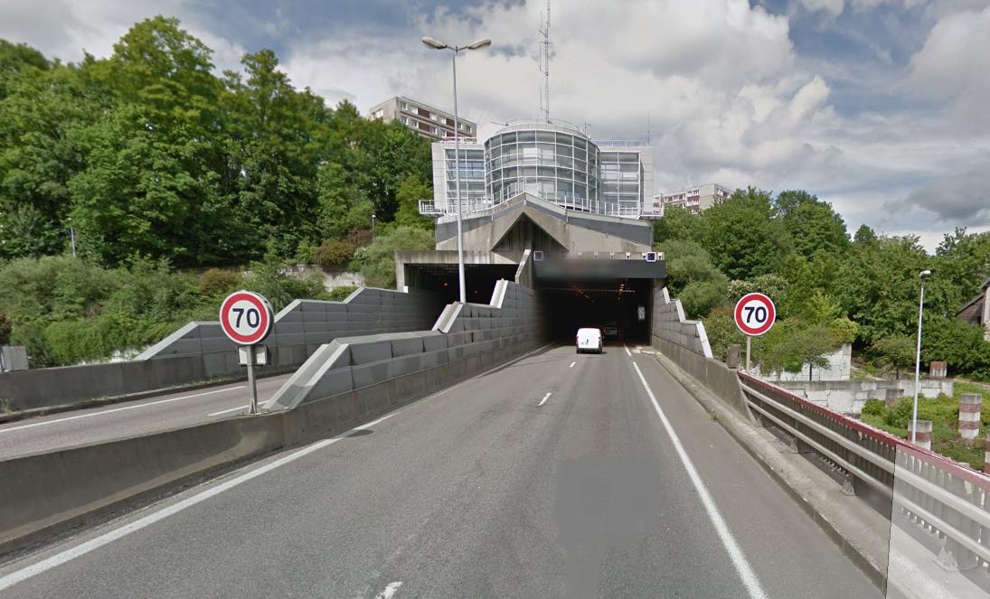 Exercice : le tunnel de la Grand-Mare à Rouen totalement fermé dans la nuit du 29 au 30 septembre