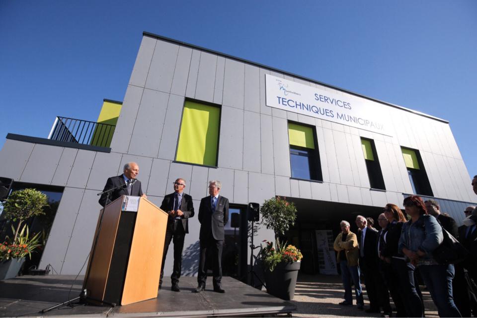 Montivilliers : les services techniques municipaux installés dans leurs nouveaux locaux