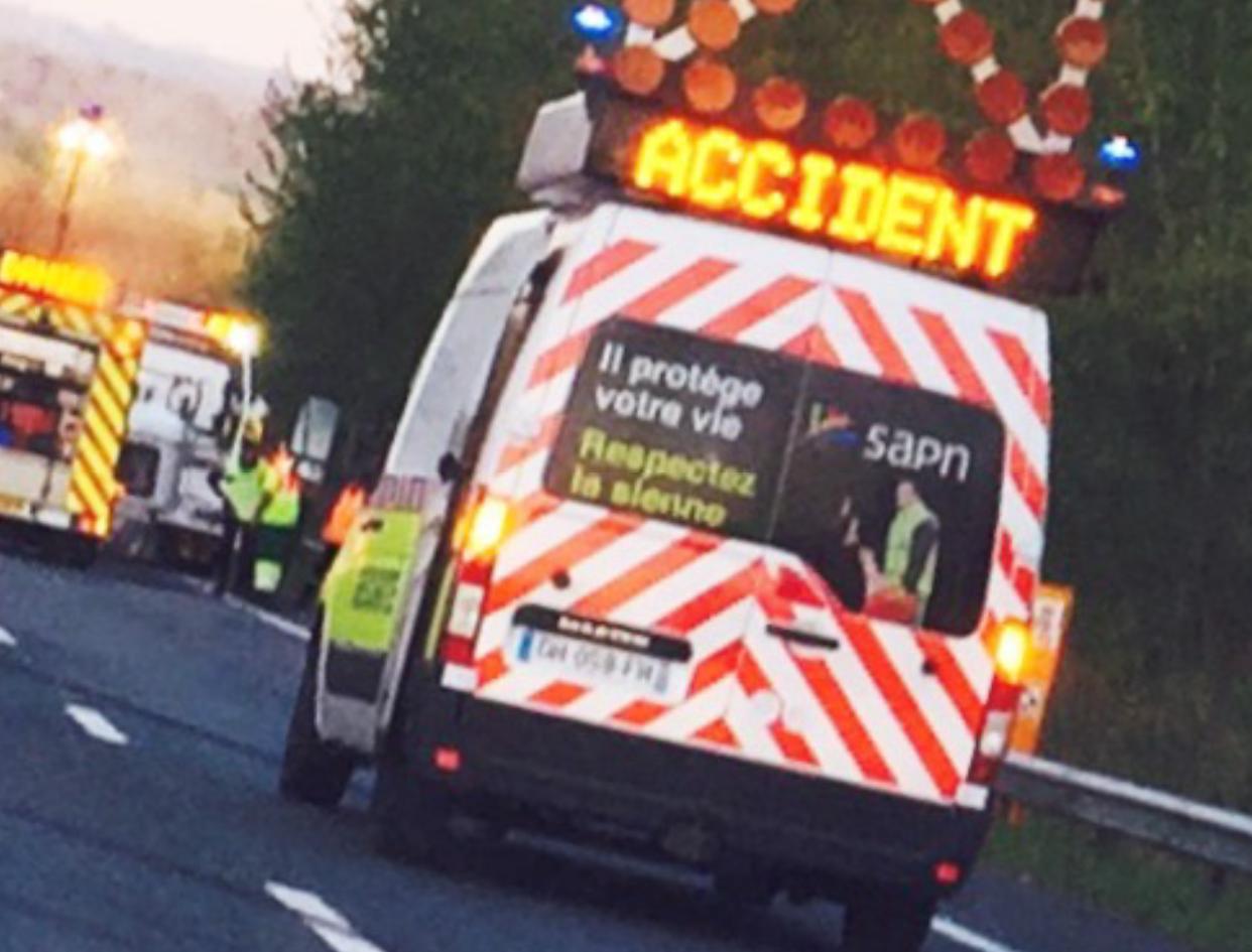 Accident près de Rouen : la N28 fermée à hauteur de Bihorel