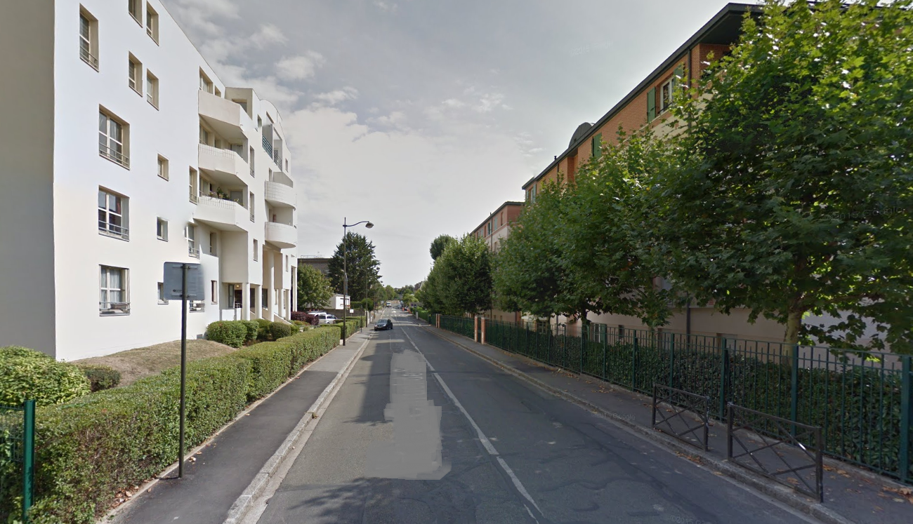 Illustration@Google Maps. L'agression s'est produite dans la rue Caruel de Saint-Martin au Chesnay