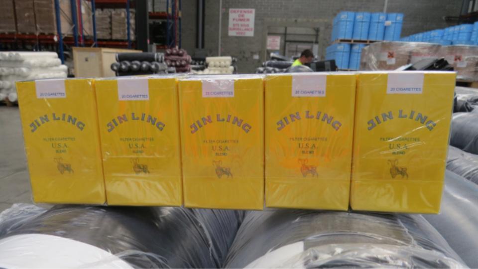 La douane saisit 14 millions de cigarettes de contrebande au Havre