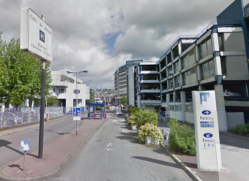 La petite victime a été admise aux urgences pédiatriques du CHU de Rouen (Illustration)