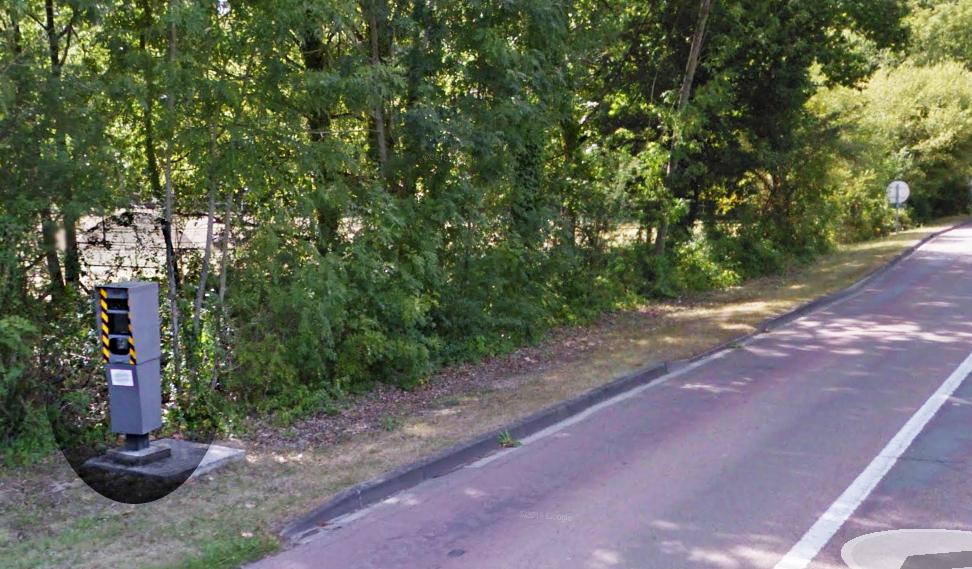 Le radar implanté sur la RD13 (rue de Montfort) entre Jouars-Pontchartain et Maurepas a déjà fait l'objet d'une tentative de destruction le 5 octobre (Photo d'illustration)