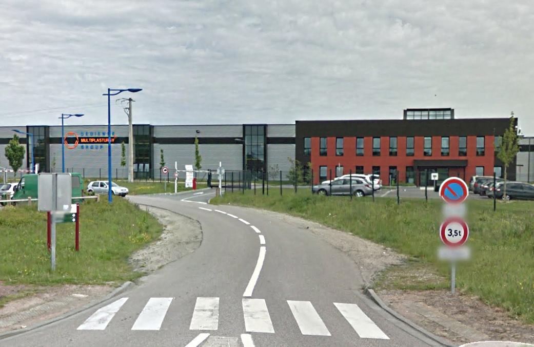 La société Dedienne Plasturgy est implantée sur la ZA les Champs Chouette (Photo @Google Maps)