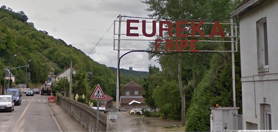 Les locaux des Chiffonniers Eureka sont installés route de Paris à Amfreville-la-Mi-Voie