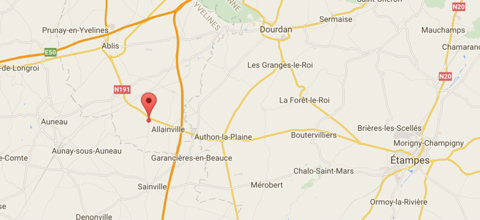 La N191 coupée dans les deux sens à Paray-Douaville (Yvelines)