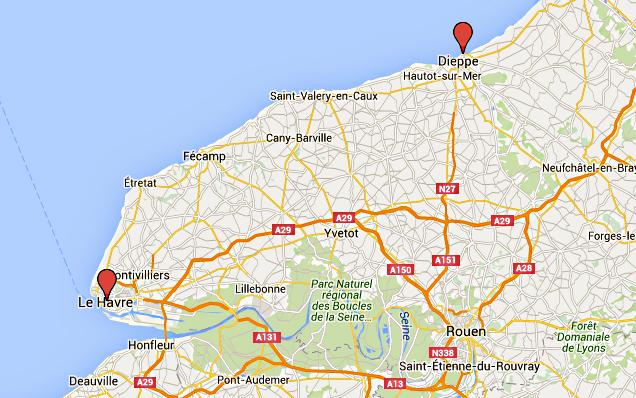 En Seine-Maritime, sécurité renforcée aux frontières maritimes du Havre et de Dieppe