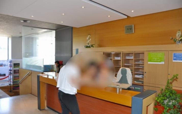 L'individu a fait irruption dans le hall d'accueil de la mairie armé d'un sabre (Photo d'illustration)