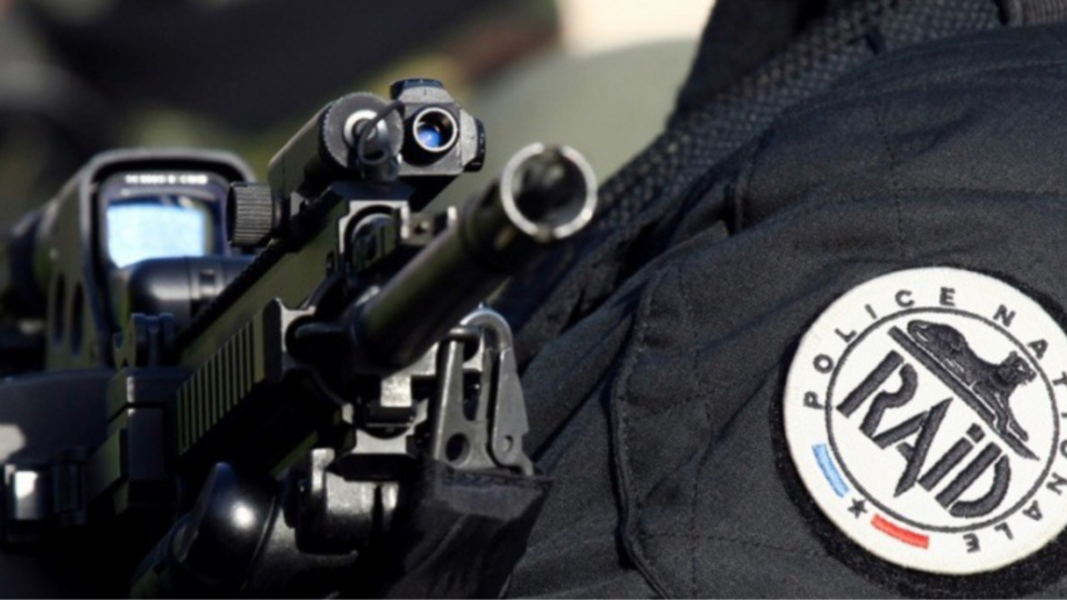 110 policiers du RAID, l'unité d'élite de la police, et de la BRI (brigade de recherche et d'intervention) ont été déployés ce matin à Saint-Denis (Photo d'illustration)