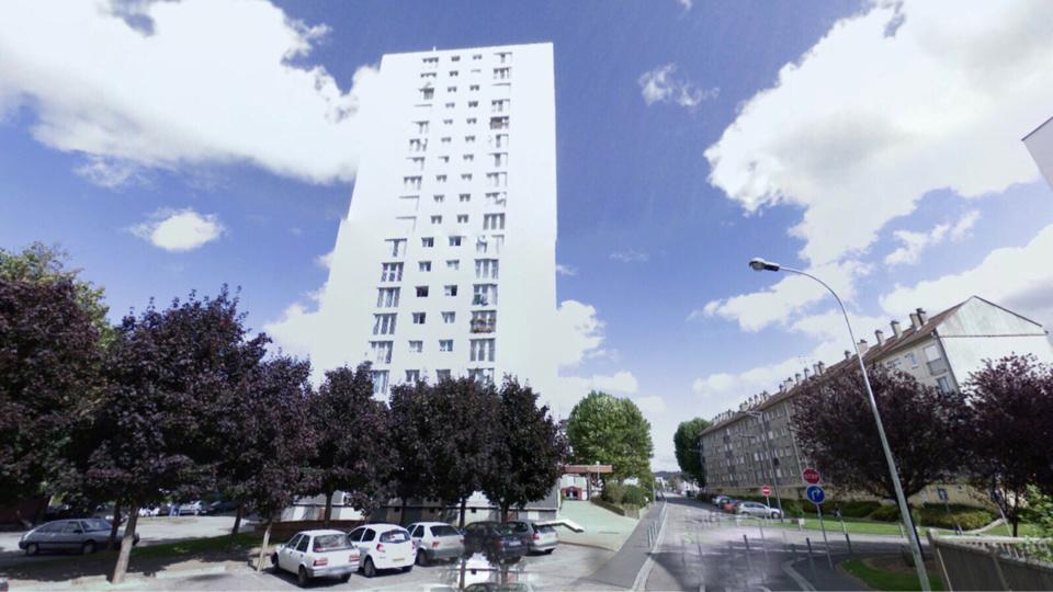 Les incidents se sont déroulés au pied de la Tour Borel, rue Jules Ferry à Darnétal