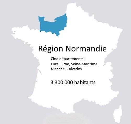 [REGIONALES]  Trois listes en compétition en Normandie : découvrez les noms des 336 candidats