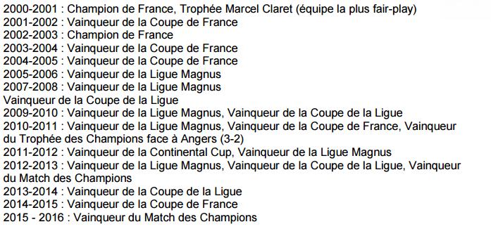 Coupe de France de hockey : un 6e titre pour les Dragons de Rouen le 3 janvier 2016 ?