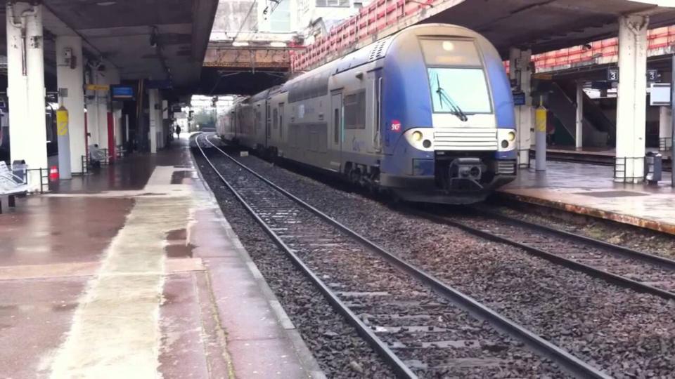 Photo d'illustration d'une gare en Ile-de-France