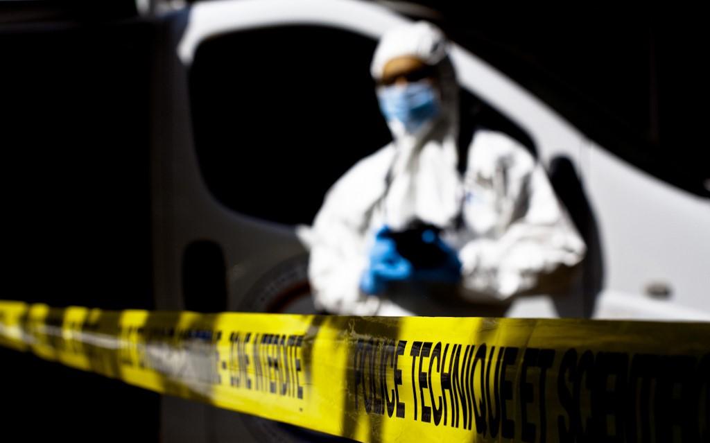 Le travail de police technique et scientifique a été déterminant dans cette enquête. Les prélèvements d'ADN ont permis de confondre un suspect (Illustration@DGPN)