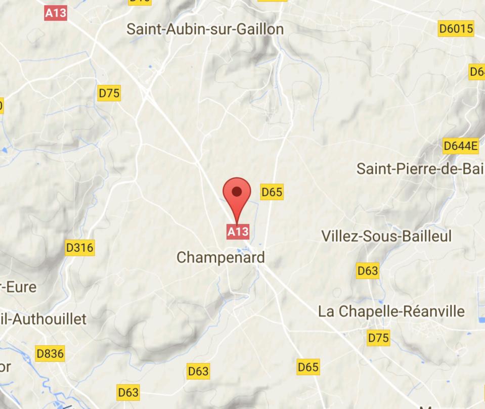 Accident sur l'A13 entre les sorties de Gaillon et Vernon (Eure)