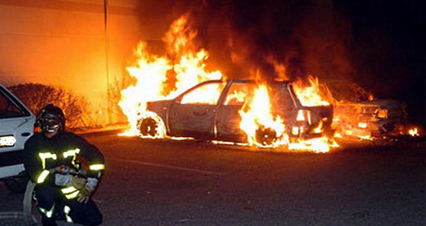 Le nombre de véhicules brûlés a diminué de 14,5% (Illustration)