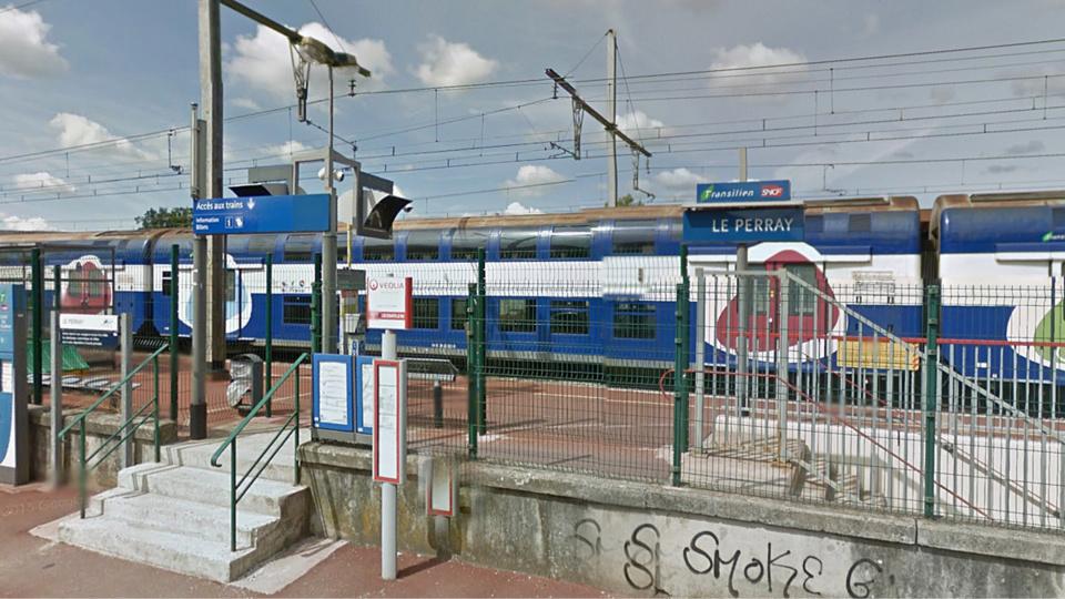 Le drame est survenu dans l'enceinte de la gare à Le Perray-en-Yvelines (Illustration)