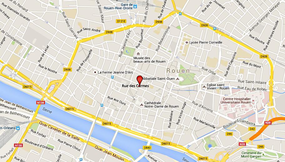 Un habitant de Vernon frappé à coups de bouteilles à Rouen : ses agresseurs sont interpellés