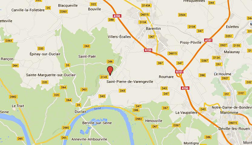 Un motard tué dans un accident route de l'Austreberthe entre Duclair et Barentin