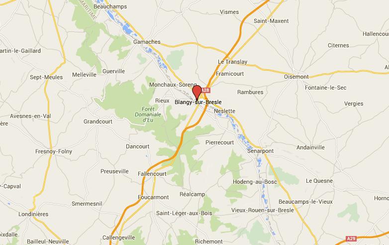 Blangy-sur-Bresle : la passagère de la Saxo succombe après une collision avec un tracteur