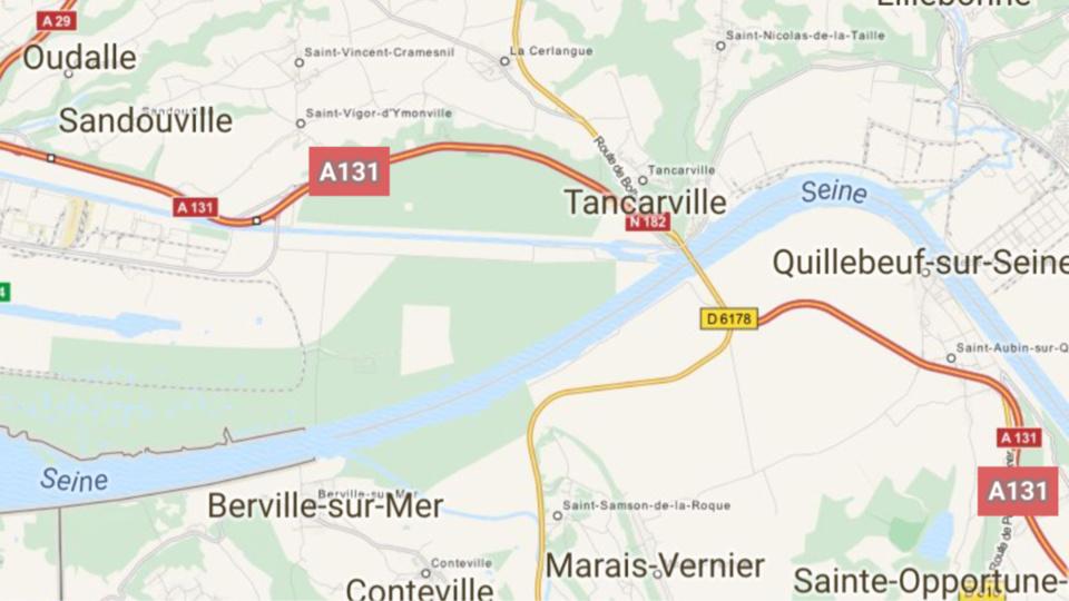 L'A131 coupée ce soir à la circulation entre Le Havre et Bourneville