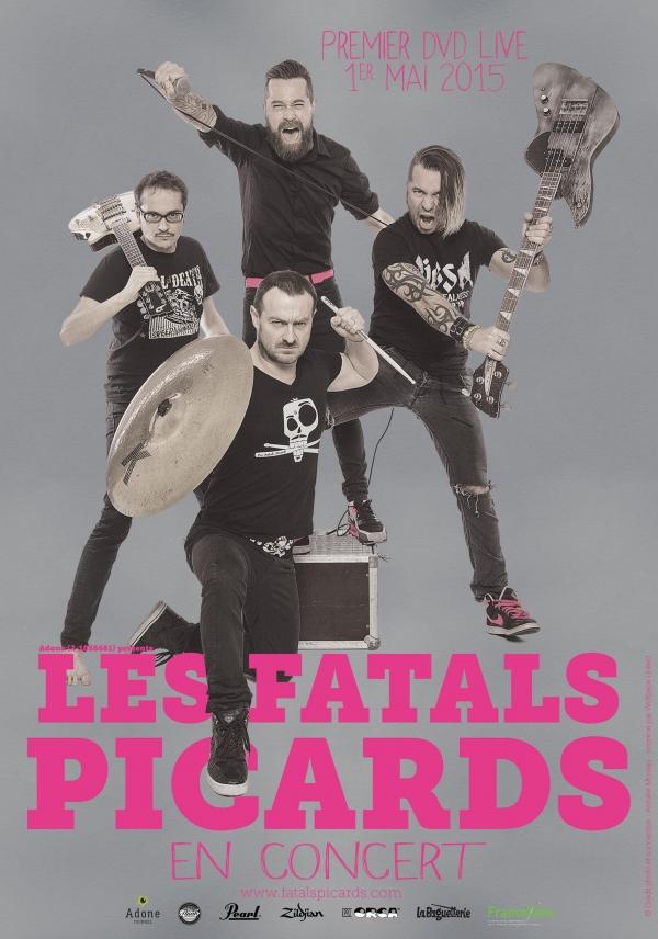 Concert : Les Fatals Picards sur la scène du Trianon à Sotteville-lès-Rouen le 2 février