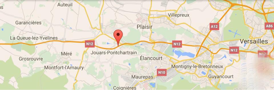 #InfoRoute. La N12 coupée cette nuit dans Les Yvelines à la suite d'un accident