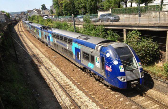 L'amélioration de la ligne Le Havre - Rouen - Paris a été un des sujets de discussions entre Manuel Valls et Hervé Morin (@infoNormandie)