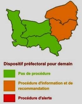 Alerte à la pollution par les particules pour mercredi en Normandie