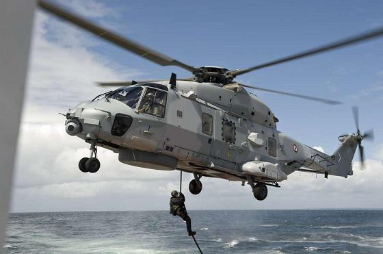 L'hélicoptère Caïman Marine (Illustration@DR)