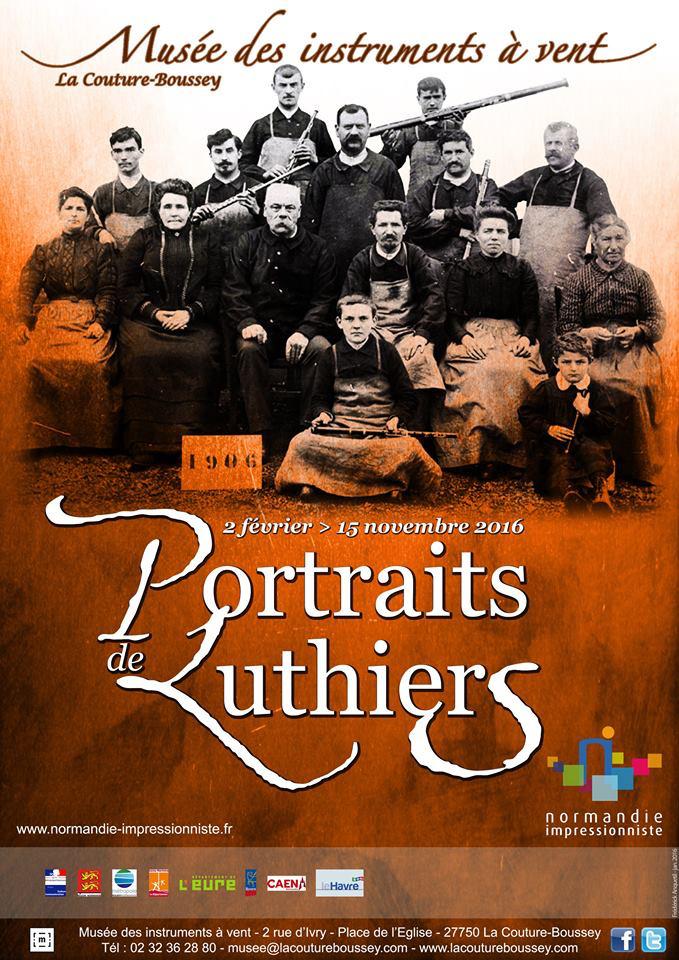 Exposition. Portraits de luthiers au musée des instruments à vent de La Couture-Boussey