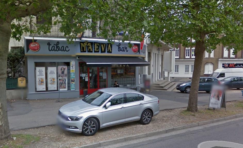 Le braqueur du Maéva, à Sotteville-lès-Rouen, avait été arrêté le 15 novembre 2014 dans les circonstances spectaculaires (Illustration@Google maps)