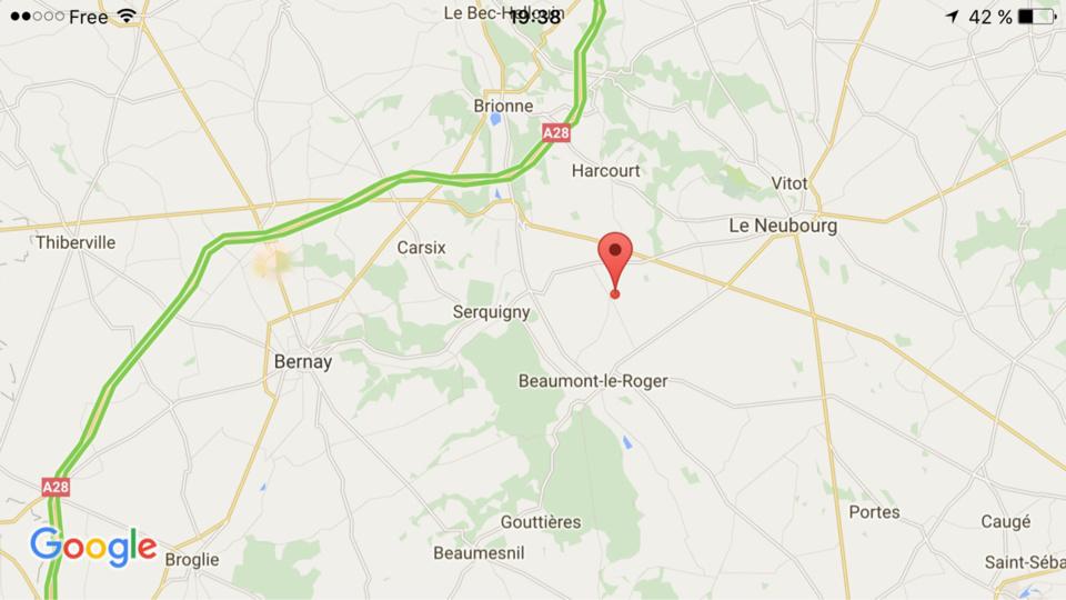 Une femme de 52 ans intoxiquée dans l'incendie de sa maison près de Beaumont-le-Roger (Eure)