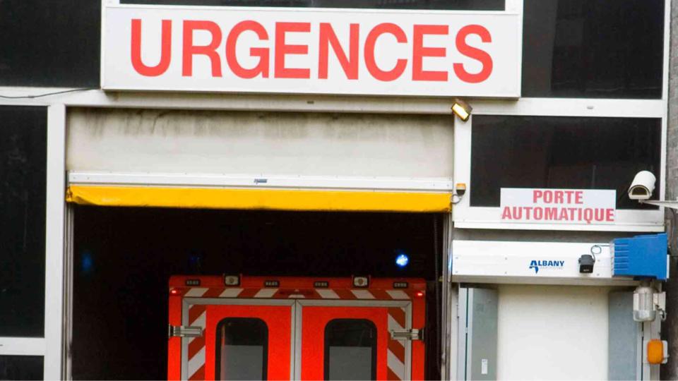 La victime a été transportée à l'hôpital de Vernon (Illustration)