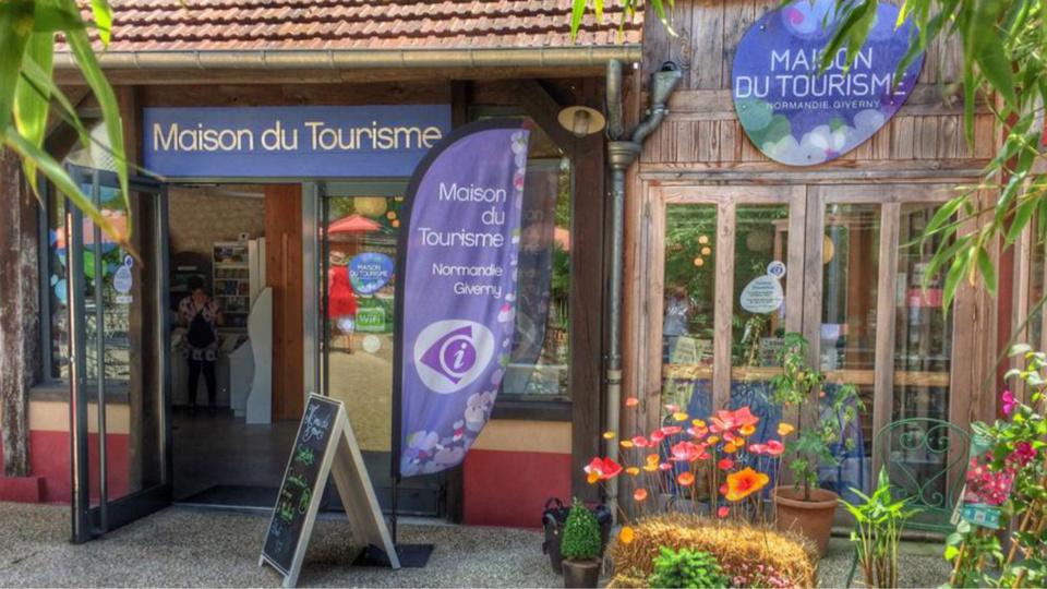 La maison du tourisme à Guverny, dans l'Eure (illustration@Cape27)