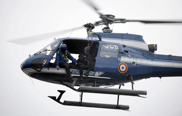 Un hélicoptère de la secation aérienne de la gendarmerie (SAG) d'Amiens a procédé à des recherches ce dimanche après-midi. En vain (Illustration)